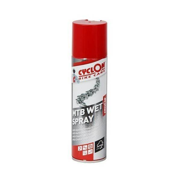 Cyclon Cyclon MTB Wet Spray - Penetrerend Smeermiddel - 250ml Cyclon