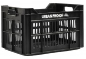 Urban Proof fietskrat 30 liter polypropyleen zwart Urban Proof