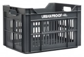 Urban Proof fietskrat 30 liter polypropyleen asgrijs Urban Proof
